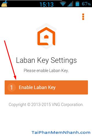 Kích hoạt Laban Key
