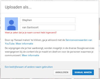 Re: Cannot create youtube channel (nor change my account name
