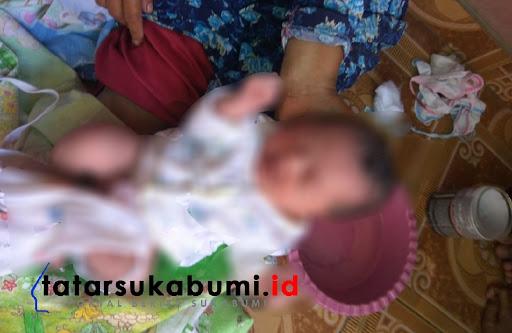 Bayi Masih Memiliki Tali Pusar Diduga Dibuang di Ciwaru Sukabumi