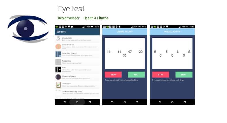 Best Eye test app Download At Home.