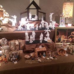 Mesa LDS Temple Christmas Display