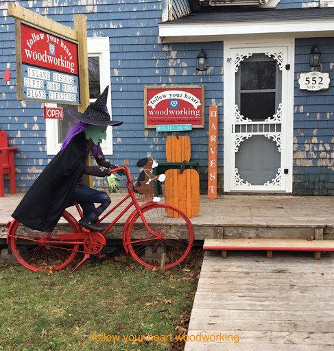witch outside shop