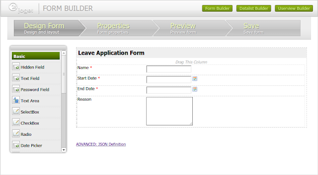 Apply Leave Form