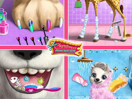 Christmas Animal Hair Salon 2 3.0.30001 screenshots 21