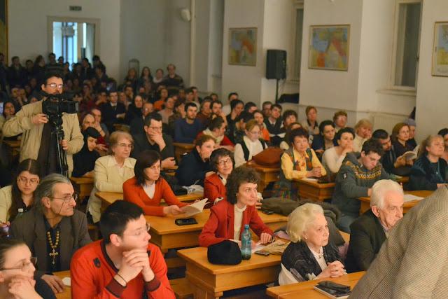 Seara cultural duhorvniceasca la FTOUB 100