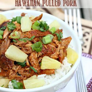 Slow Cooker Hawaiian Pulled Pork.