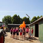 Oranjefeest Barlo 2014 zaterdagochtend - Foto's Wianda Bongen