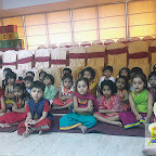 GANPATI CELEBRATION BY NURSERY SECTION (2017-18) AT WITTY WORLD, BANGUR NAGAR