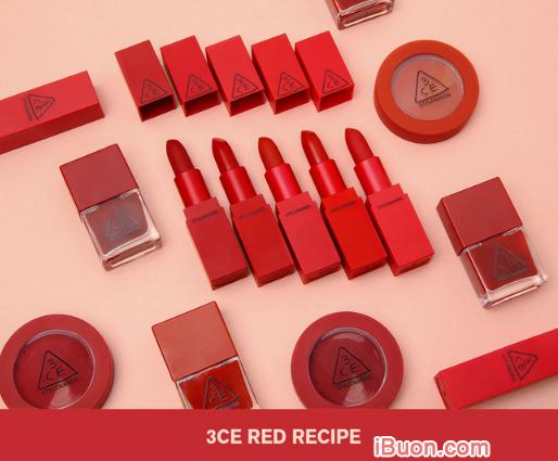 So sánh son NARS RITA vỏ đỏ và Son 3 CE RED RECIPE + Hình 4