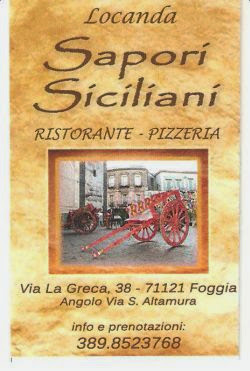 Locanda Sapori Siciliani