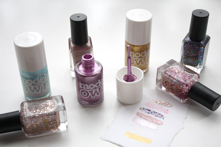 nail varnish for the party season from barry m and models own