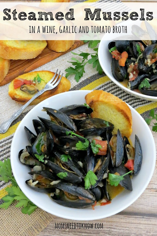 Steamed-Mussels-in-a-Wine-Garlic-and-Tomato-Broth