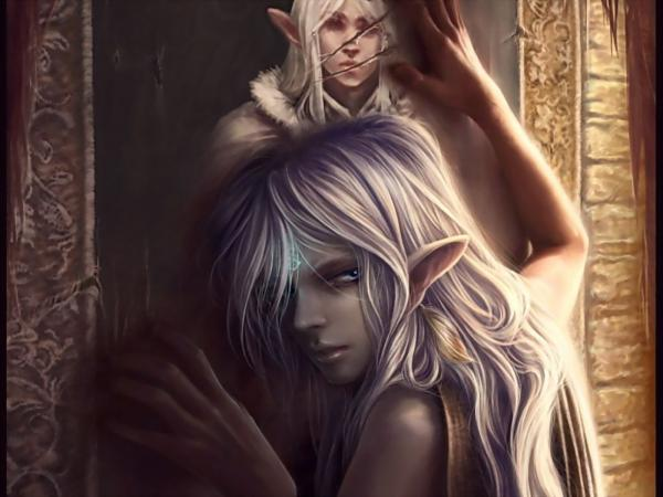 Portrait Of An Elfin Dreams, Elven Girls 2