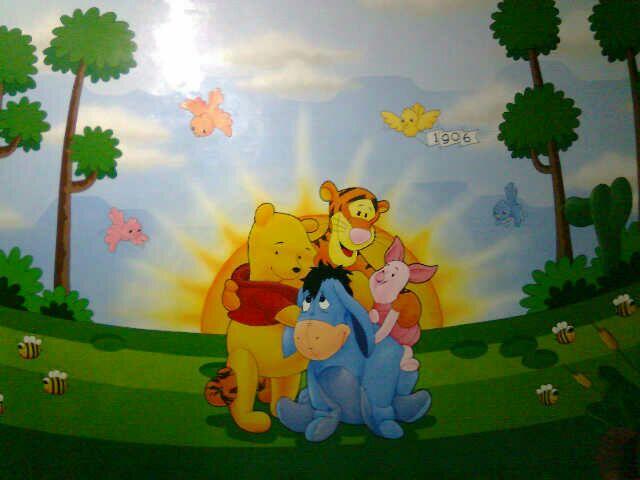Contoh Gambar Lukisan Mural Sekolah Paling Keren