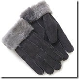 Tommy Tou Sheepskin Gloves in Gift Box