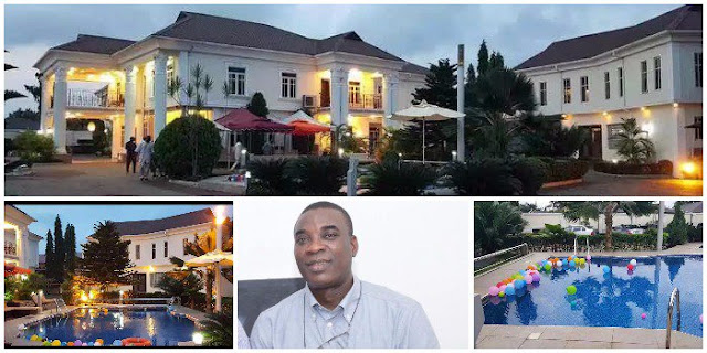 Check Out Veteran Fuji Musician, King Wasiu Ayinde KWAM 1's Multi-million Naira Mansion (Photos)