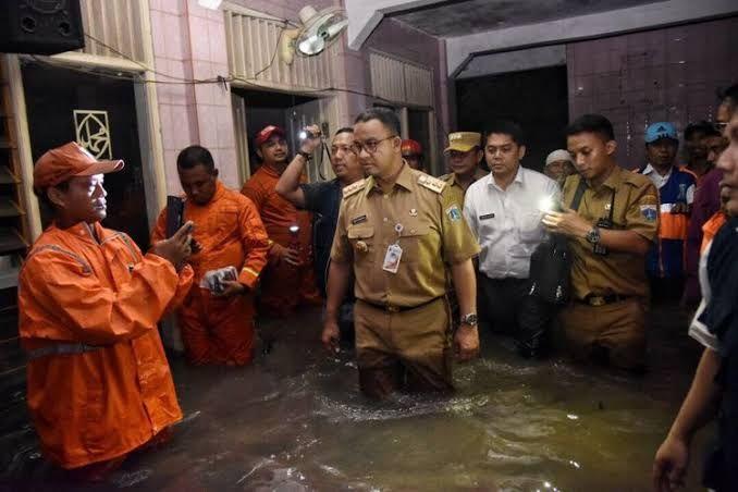 Kalau Anies Didorong Jadi Presiden, Mungkin Banjir Jakarta Bisa Selesai
