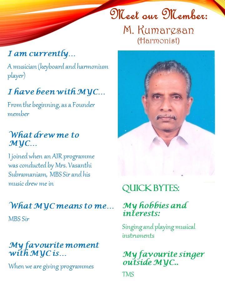 M. Kumaresan