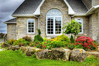 Boulders and Wiarton Brown Grey Wall Stone