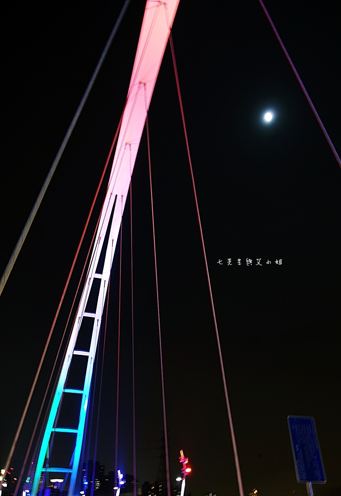 9 新莊板橋新月橋 新莊夜市碳烤臭豆腐 丁家豆花