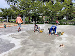 Tak Lama Lagi, Lapangan Bulu Tangkis Dan Sepak Takraw Berstandar Nasional Bakal Rampung Di Kawasan Padang Kaduduak