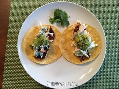 easy, fish, taco, recipe, dinner, healthy, clean, yummy, tilapia, chili, lime, slaw, fresh, guacamole, simple