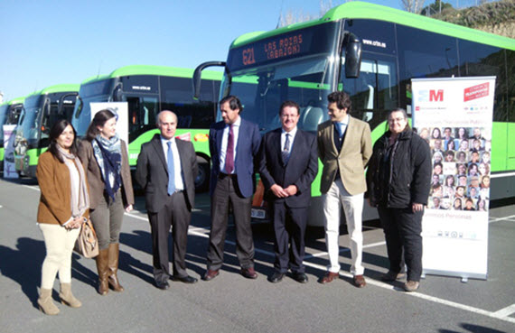 8 nuevos autobuses interurbanos de Autoperiferia