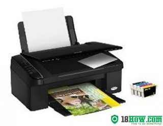How to Reset Epson SX115 printing device – Reset flashing lights error