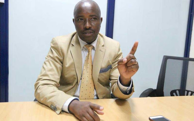 Rent Bureau Director Daniel Wachira. PHOTO | BMS