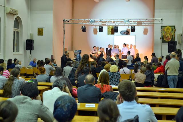 Conferinta Despre martiri cu Dan Puric, FTOUB 185