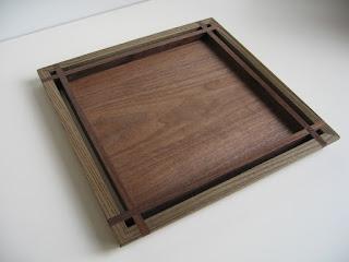 トレースクウェア (M) 神代 tea tray square (M) jindai