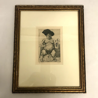 Joel Beckwith Signed Etching