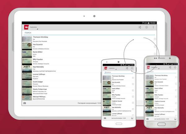 Business Card Reader, aplicación para digitalizar y gestionar tarjetas de presentación