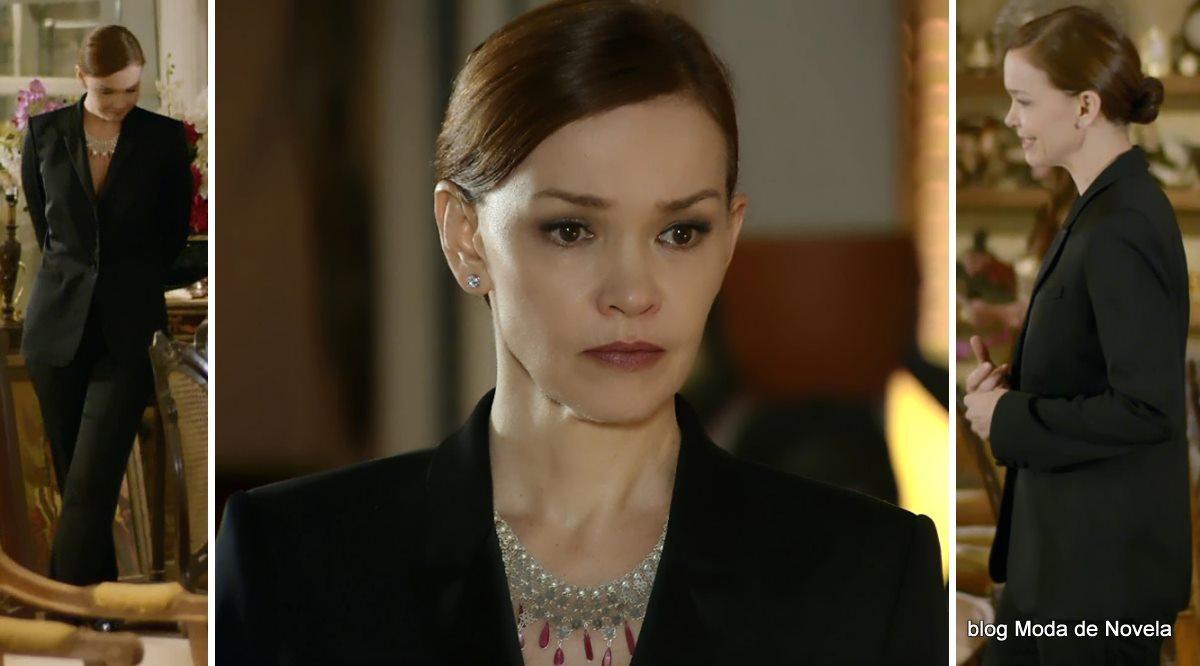 moda da novela Em Família - look da Helena