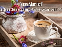 buon martedi immagine con frase aforismole cose importanti si vedono con il cuore tazza caffe fiori.jpg