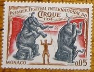 timbre Monaco 002 cirque