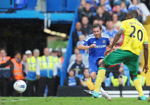 Juan Mata, Chelsea - Norwich