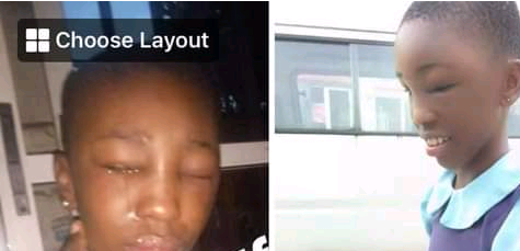 So Sad! 😭... Couple allegedly brutalises minor house help in Port Harcourt