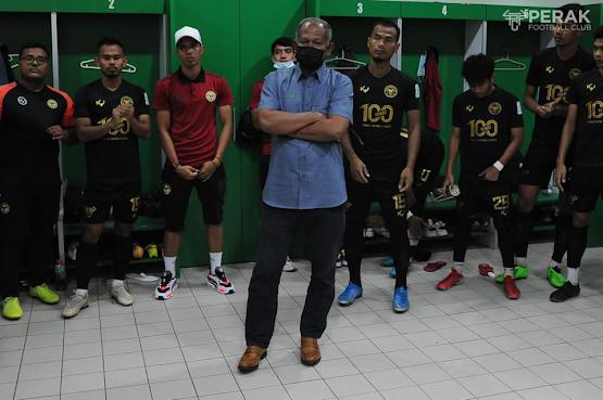 Perak FC Tersingkir Ke Liga Perdana Musim Hadapan.