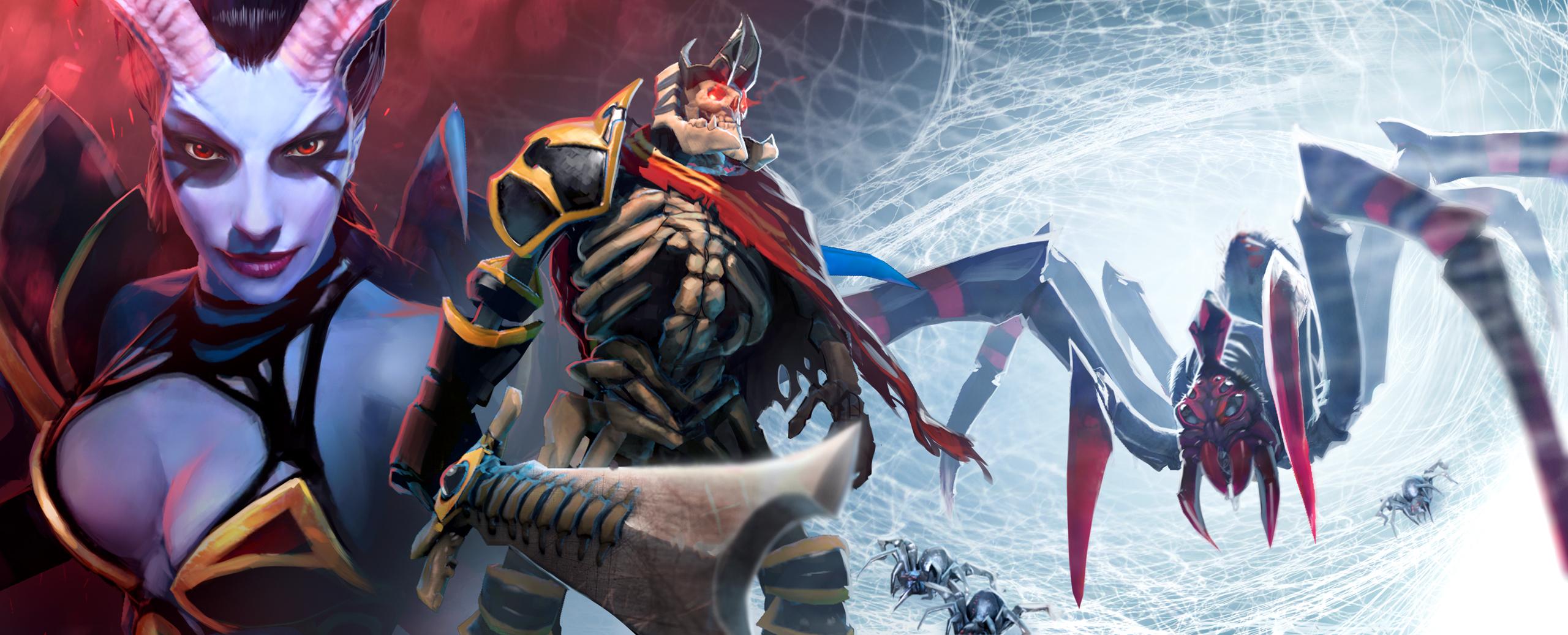 Loạt ảnh nguyên họa của các hero trong DotA 2 - Ảnh 4