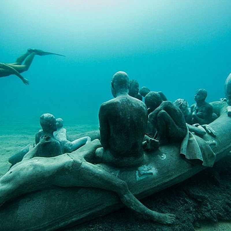 Europe's First Underwater Sculpture Museum