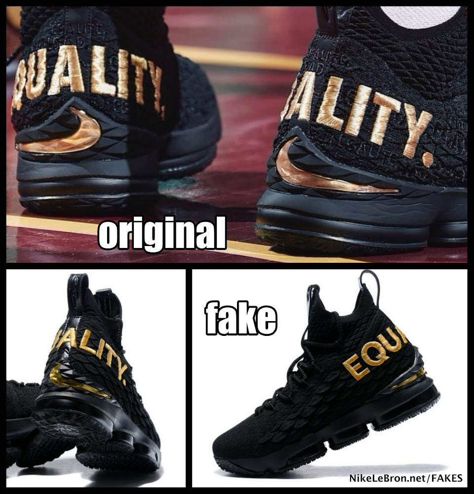 8eab4dfb24b How to Avoid Buying Fake Nike LeBron 15