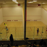 There was action on all 14 courts from 8am-9pm on the first day.