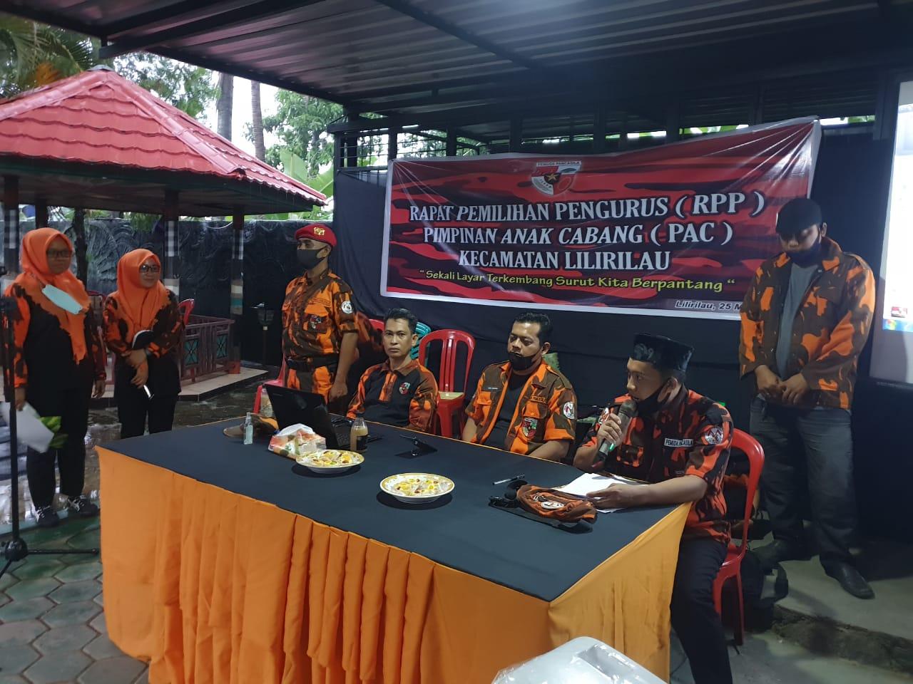 Rapat Pemilihan Pengurus PAC Pemuda Pancasila Kecamatan Lilirilau Digelar, Ini Ketua PAC PP Yang Baru