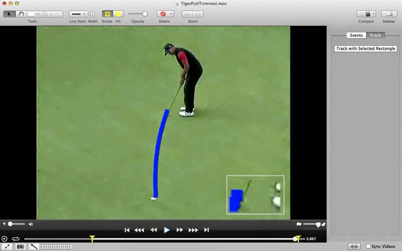 A Simple Way To Analyzing Sport Videos With ObjectusVideo