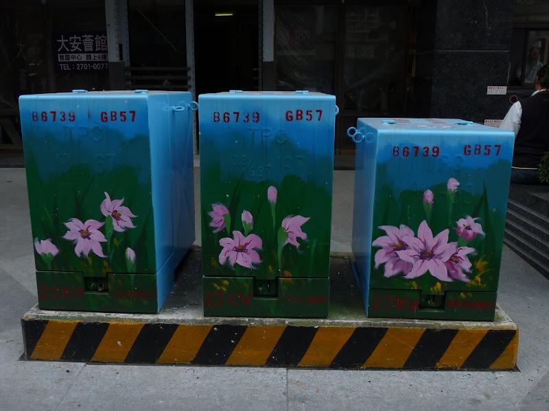 TAIWAN . Taipei De Shandao Temple jusqu à T 101 à pied... - P1160314.JPG