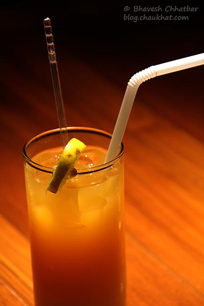 Sinful Passion Mocktail served at Toss Sports Lounge Koregaon Park