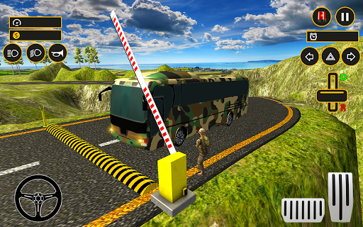 Drive Army Bus Transport Duty Us Soldier 2019 1.0 screenshots 18