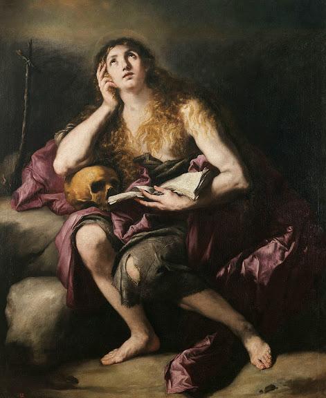 Luca Giordano - Penitent Mary Magdalene