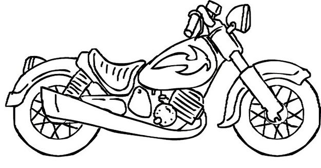 Motorcycle Coloring Pages Boy Coloring Pages For Kids Motorcycle Coloring  Pages For Boys On